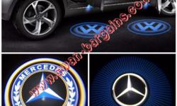2pcs Mercedes-Benz Logo Magnetic Wireless Car Door