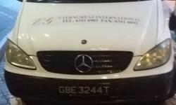 White Mercedes Vito 111L for sale, Direct from Owner.