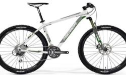 Mountain Bike with disc brakes. Bike comes with