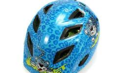 MET Genio Blue Cheetah Kids Helmet S$65 (For direct