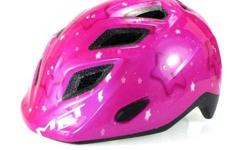 MET Genio Pink Little Stars Kids Helmet S$65 (For