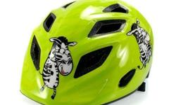 MET Genio Zebra Green Kids Helmet S$65 (For direct