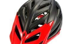 MET Terra Matte Black/Glossy Red Helmet S$99 (For