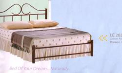 Metal double decker bed frame with offer price $ 80/set