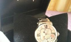 New Mickey Mouse metal Authentic Watch Metal strap with
