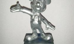 Mickey Mouse Silver display statue 24cm.Interested to