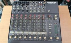 Mackie 12 channel Mixer for sell interesting please sms