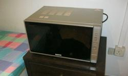 A good quality large microwave, clean and in full