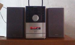 Must sell Sony cd radio system for $40. Viewing at