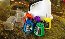 Mini grater slicer available immediately. Brand new.
