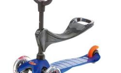 Mini Micro Kick 3 Kids Scooter - Blue S$170 (For direct