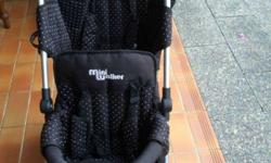 Mini Walker double stroller. SOLD Awesome umbrella