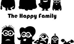 Minion Family Cars Sticker Cost and Specification -