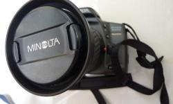 This is the made-in-Japan Minolta film camera. Rare