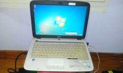A set of very good cond Acer 4710z with brand new batt