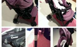 Wts: Mint Condition Combi-Well Comfort Stroller in
