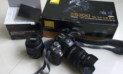 Nikon D5300 in rare and smart looking Grey (Silver)