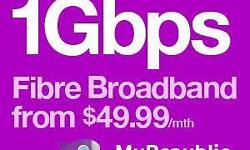 Ultra1Gbps (1000Mbps)@$49.99 per month Up to 1000Mbps