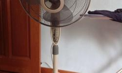 Selling my 3 months old pedestal fan. self collection