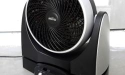 Mistral power fan. Compact with very poweful strong