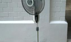 "Mistral electric 16"" standing fan. Electronic type of"