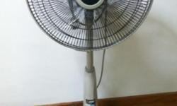 Mitsubishi fan in good condition. (Oscillate not