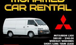 Mitsubishi Goods Van For Rent Price: $ 80.00 - $140.00