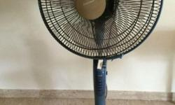 Mitsubishi stnd fan. Proper working order.Good