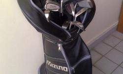 Full Mizuno Polarise Men Golf Set with bag Most clubs