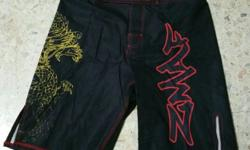 MMA PANTS COLOR AVAILABLE: RED / WHITE / BLACK SIZES
