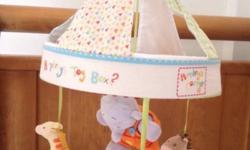 Beautiful mobile for babies cot - good condition and