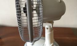 A morries table fan in excellent condition. Suitable