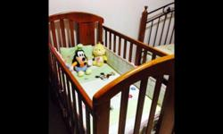 We are moving from Singapore so selling our cot This is