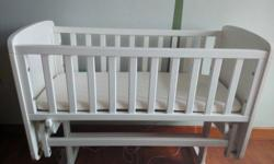 "Used but in good condition ""mothercare deluxe gliding"