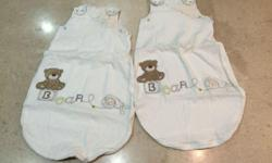 Mothercare 'Loved so much' Sleeping bags x 2 Very good