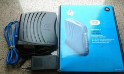 Motorola Surfboard cable Modem #5101i with all
