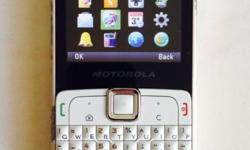 Used Motorola hand phone. Still in working condition.