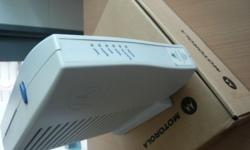 Have a Motorola Surfboard cable modem for sale. Working