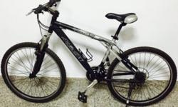 Mountain Bike for sale, aluminum body. Well maintained