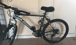 Aleoca Mountain Bike for sale. Since i am relocating,