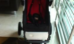 Mountain Buggy 3 wheeled jogging pram. Complete set