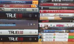 Selling all as shown in the picture! Good as new DVD