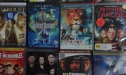 Amazing movies DVD and Music DVD 5 sgd ONLY