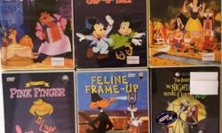 Classic Cartoons, Popular Movie DVDs & many more for