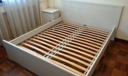 IKEA queen size bed in our spare room never used as new