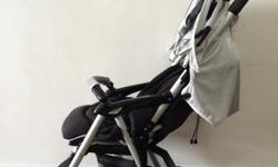 Hi We are selling our Combi Stroller (Black & Silver