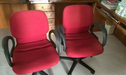 Two hardly used almost brand new office chairs for