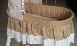 Moving out sale - Used MaMa Love Baby basinet want to
