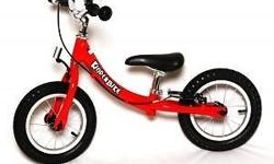 Self pick up Kinderbike set out to design a trainer
