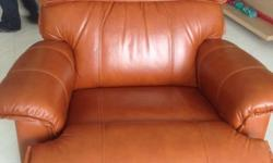 Genuine leather La-Z-Boy Recliner for sale at very